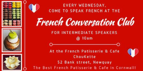 French Conversation Club Newquay (Intermediate) tickets