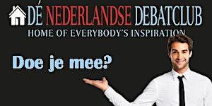 """BPW Nederland workshop """"Debatteren kun je leren'"""