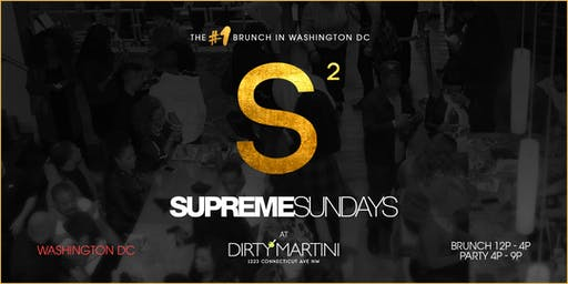 Supreme Sundays Brunch & AfterParty