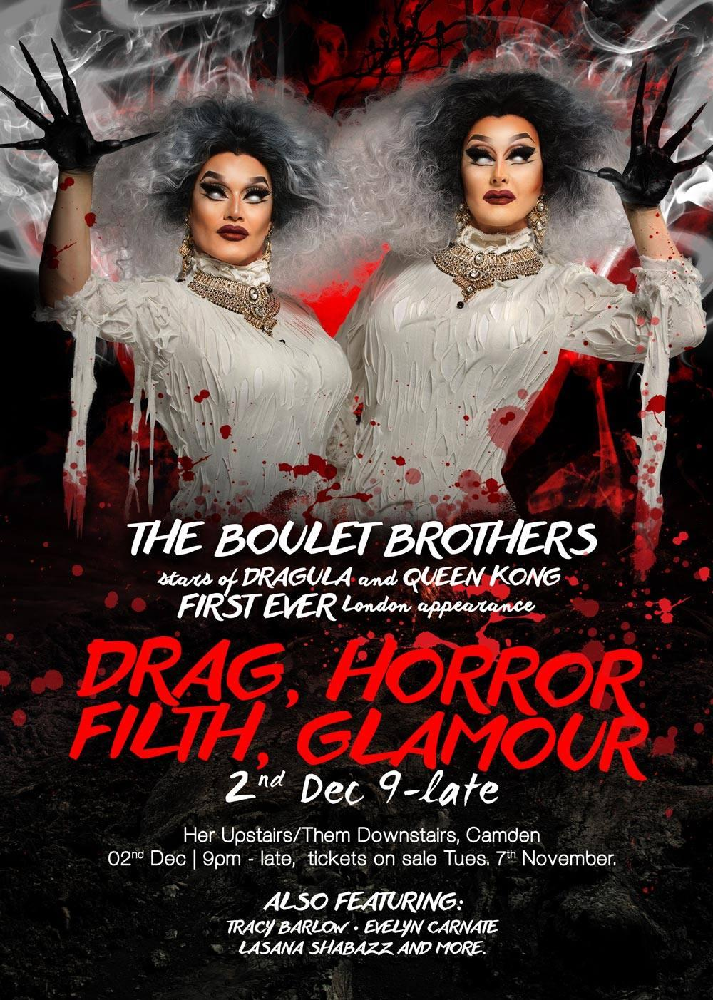 The Boulet Brothers - London