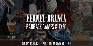 Fernet-Branca Barback Games & Expo - San Francisco CA