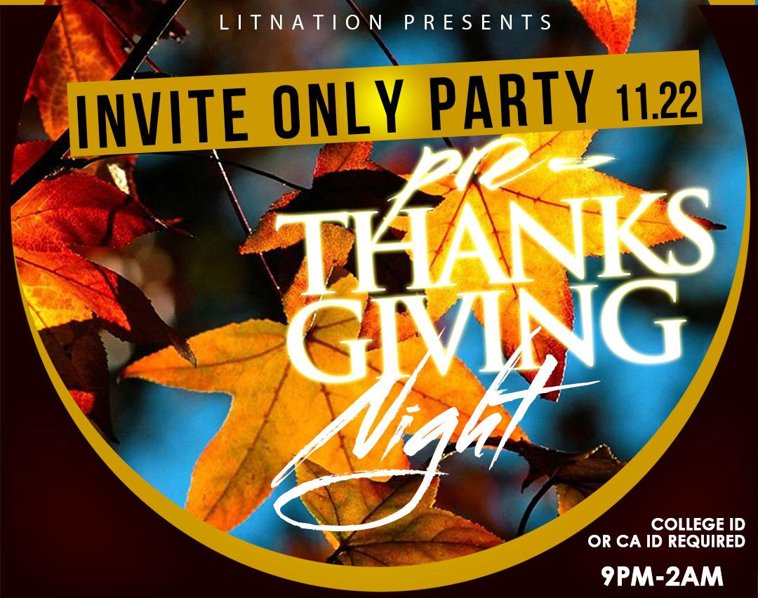 INVITE ONLY PARTY