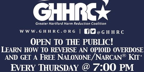 How to reverse an opioid overdose and get a FREE Naloxone / Narcan® Kit.* tickets