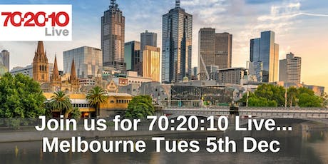 70:20:10 Live - Melbourne tickets