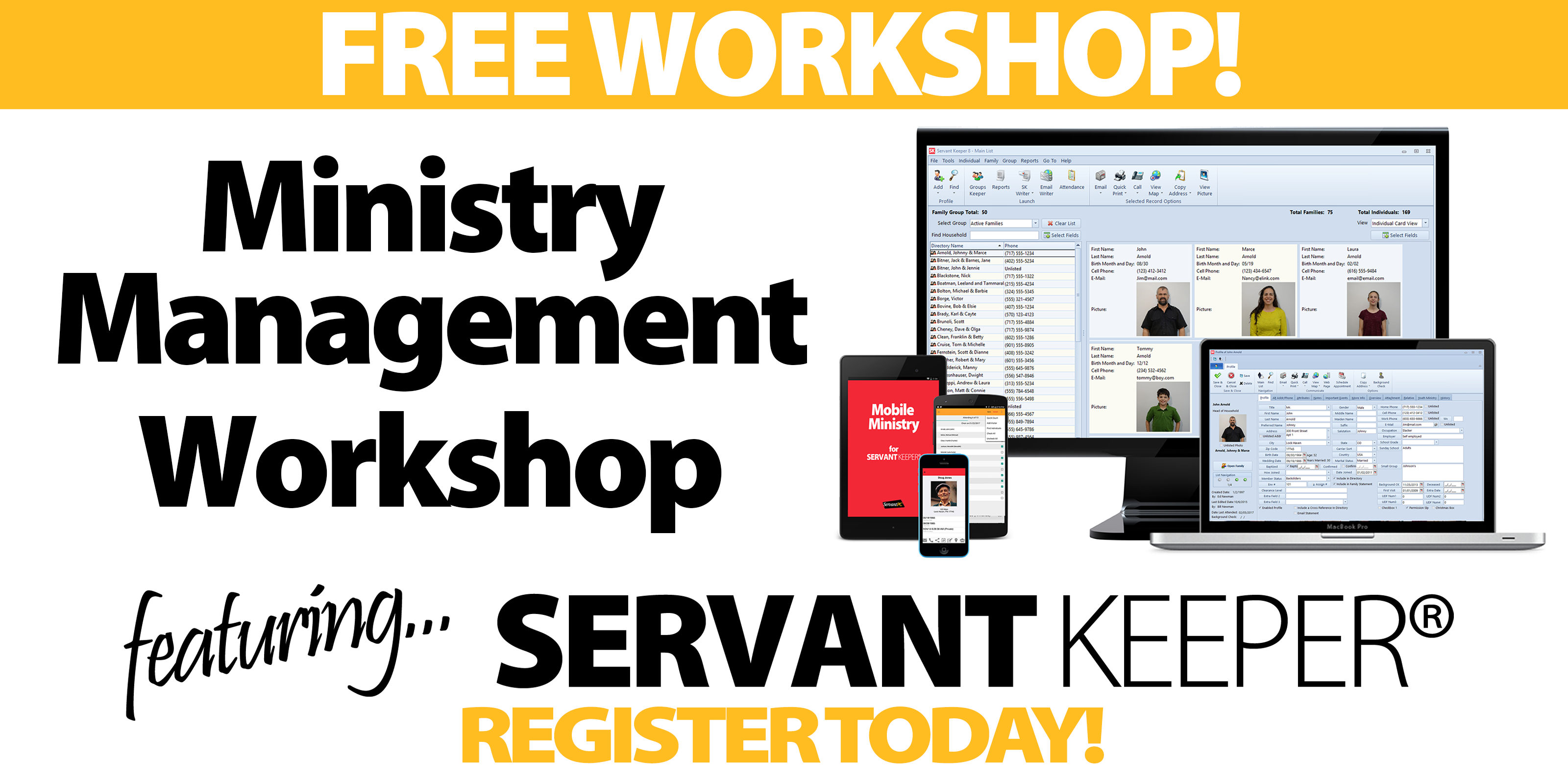 Dallas - Ministry Management Workshop