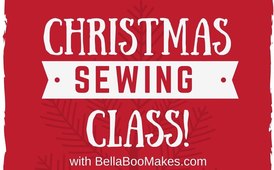 Christmas Sewing Class