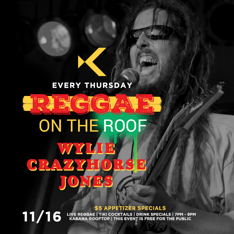 Reggae on the Roof Feat Wylie Crazy-horse Jones