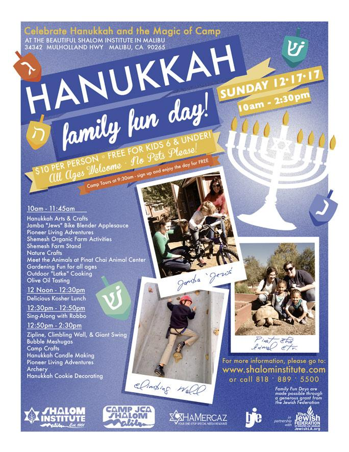 Hanukkah Family Fun Day 2017