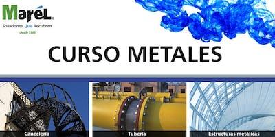 Curso de capacitación para aplicación de recubrimientos en metales.