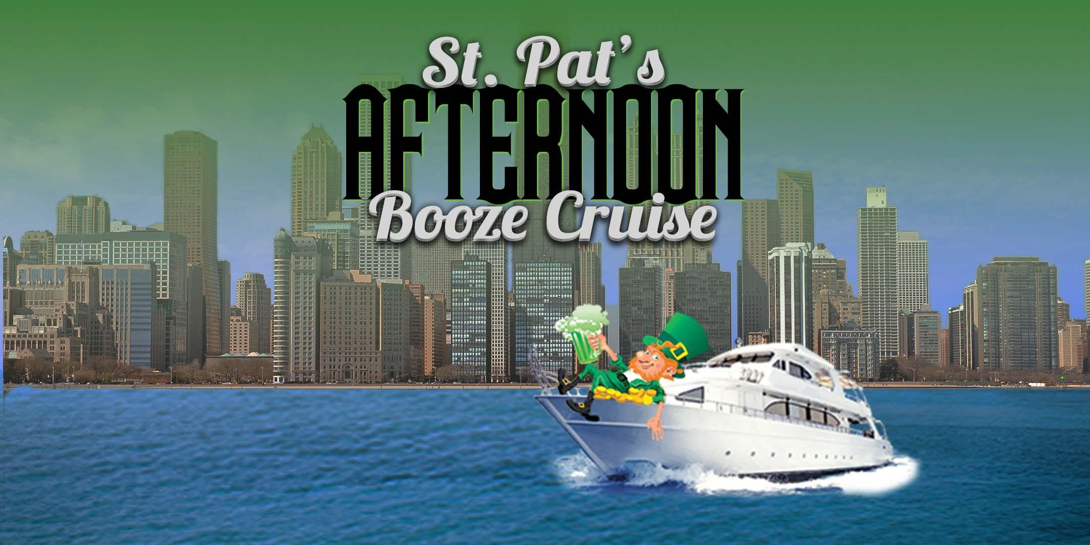 St. Pat's Afternoon Booze Cruise on March 17th on Anita Dee II! (1:30pm)