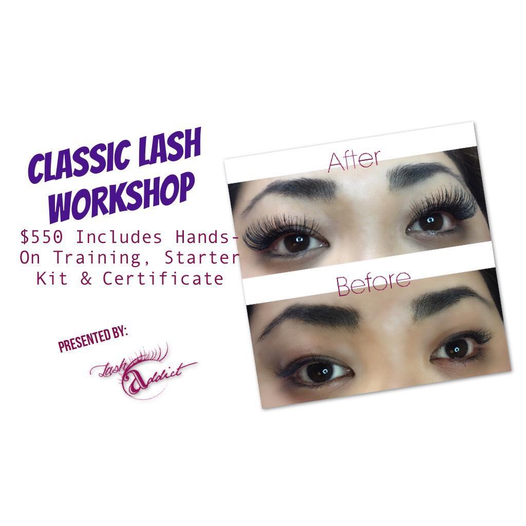 Classic Lash Extension Training Workshop- Los Angeles, CA