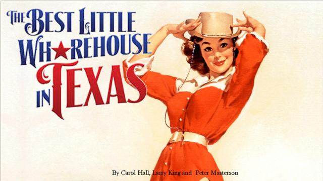 Thin Line Film Festival and UNT Short Film Club Present: The Best Little Whore House in Texas