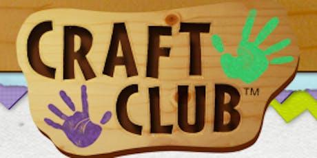 Kids Craft Club tickets