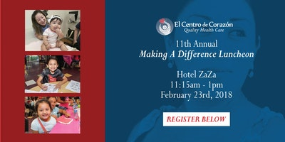 11th Annual Making a Difference Luncheon