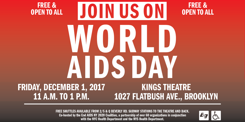 SAVE THE DATE World AIDS Day Registration Fri Dec - 1027 flatbush avenue 11226 brooklyn ny us maps