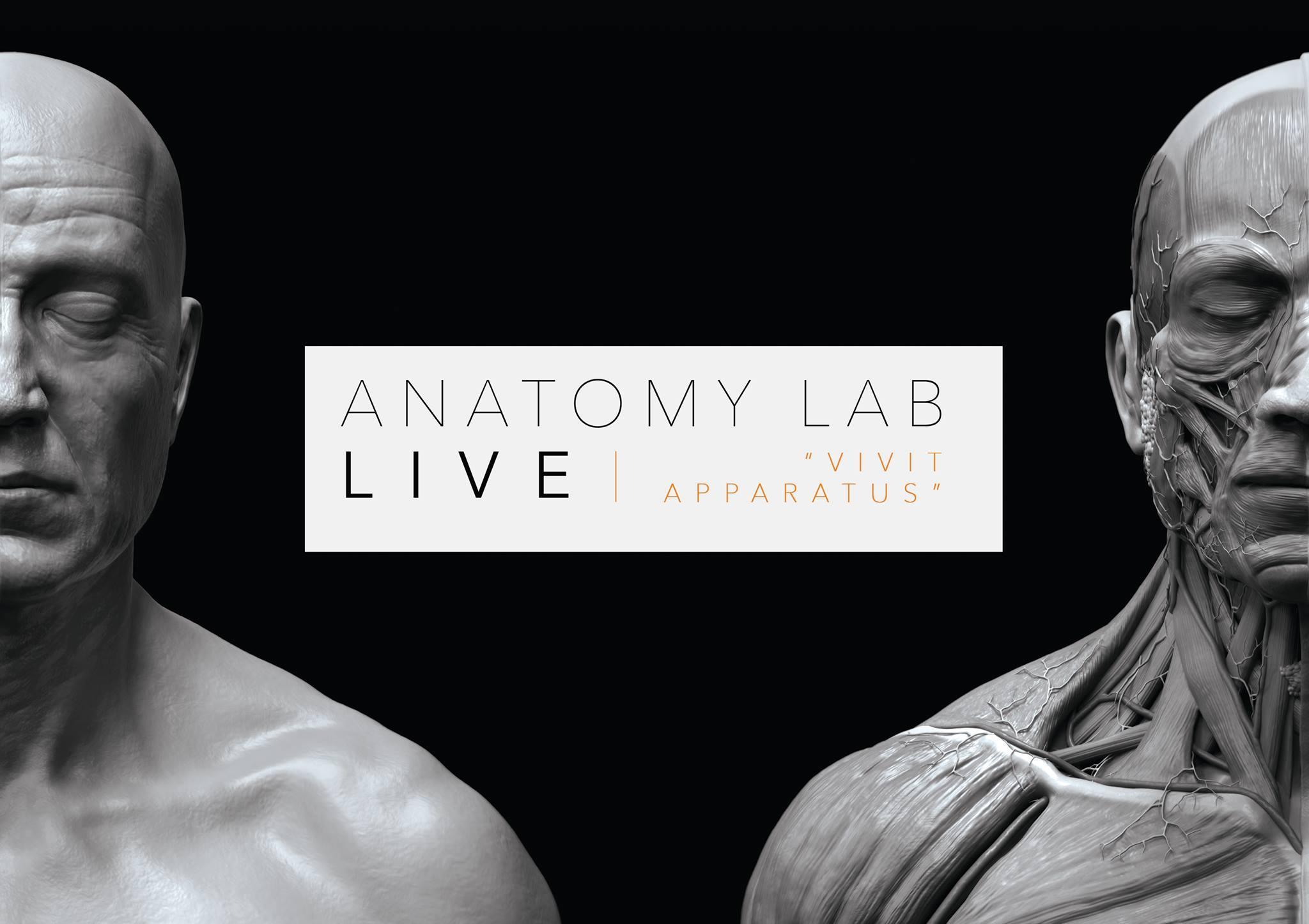ANATOMY LAB LIVE   NOTTINGHAM 18/02/2018
