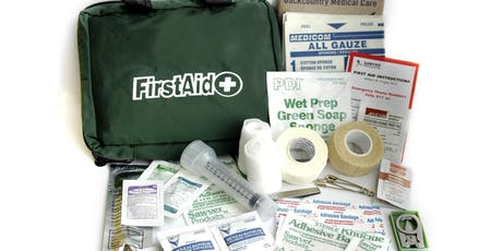 Scout Training: First Aid & CPR tickets