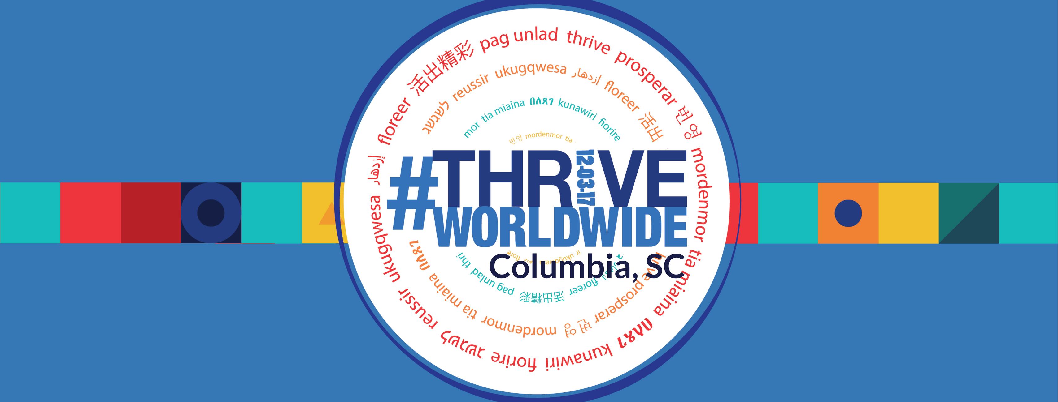 #ThriveWorldwide: Columbia, SC, USA