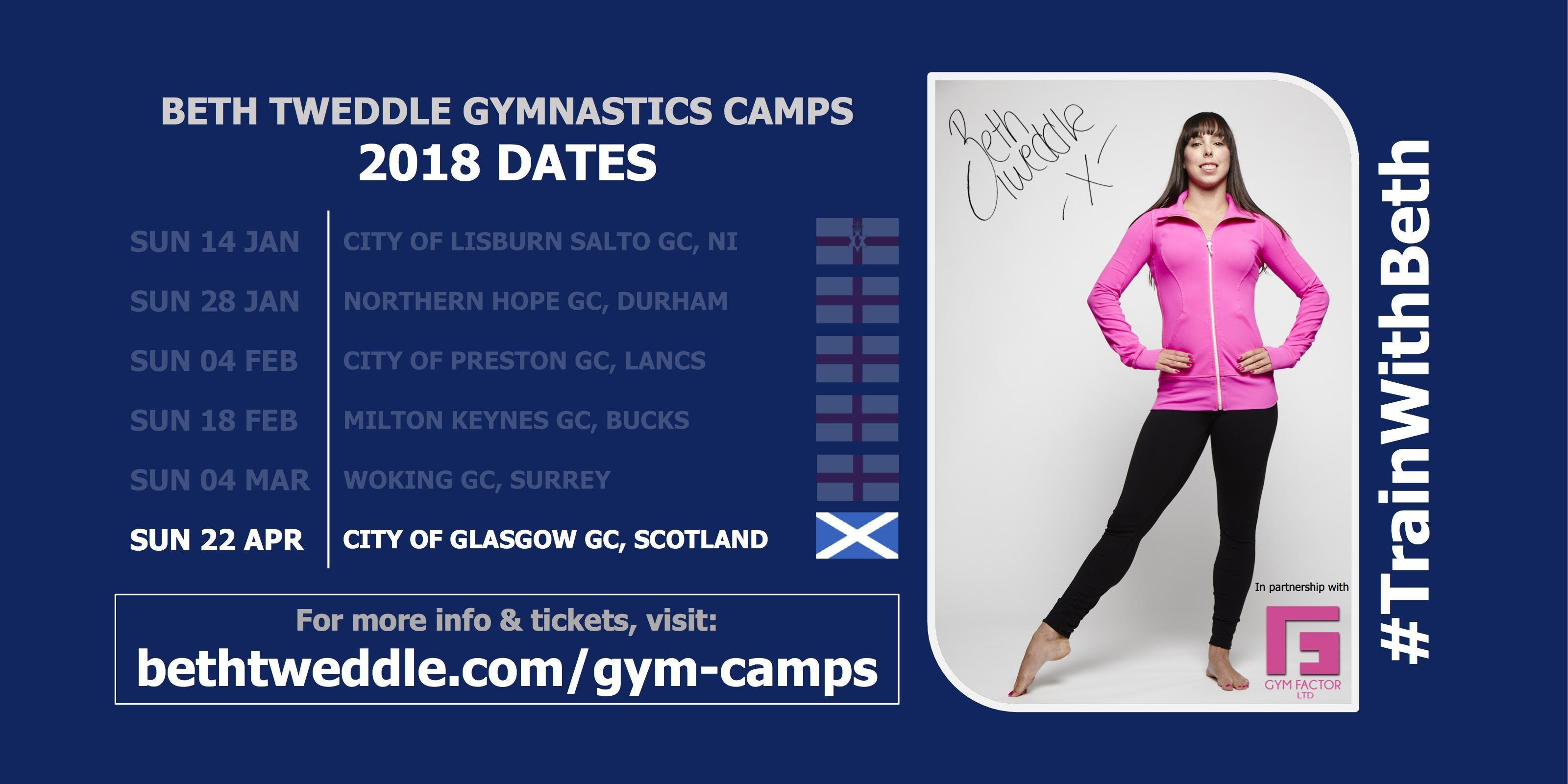 Beth Tweddle Gymnastics Camp, City of Glasgow