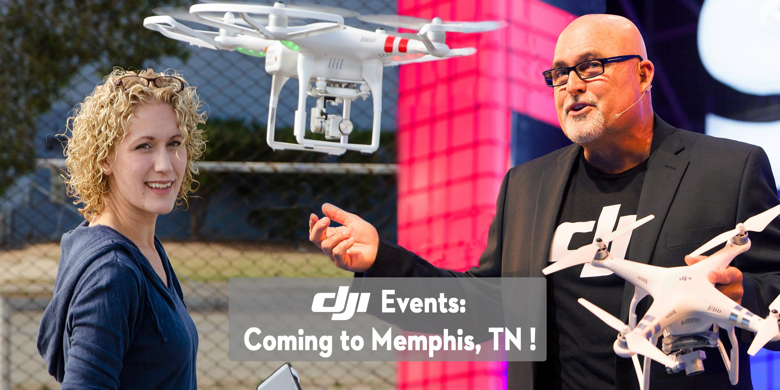 DJI Aerial Photo Academy – on Tour in Memphis, TN!