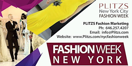 FASHION WEEK NY - FASHION DESIGNER PACKAGE (SEPTEMBER NY FASHION WEEK SEASON) 40 LOOKS - $1,700 tickets