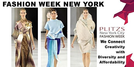 FASHION WEEK NY $700 FASHION DESIGNER PACKAGE (SEPTEMBER NY FASHION WEEK SEASON) 20 LOOKS tickets