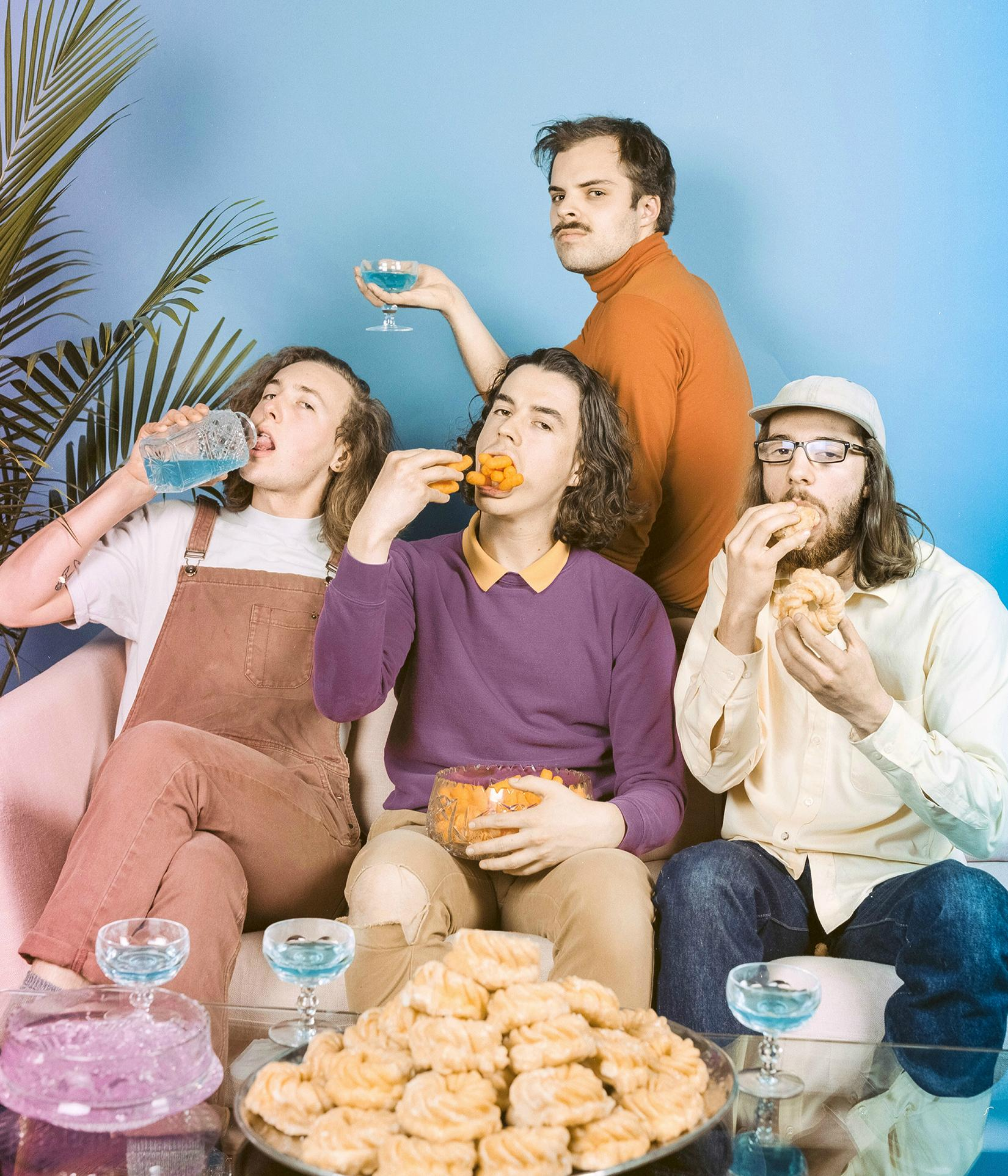 Peach Pit & Guests
