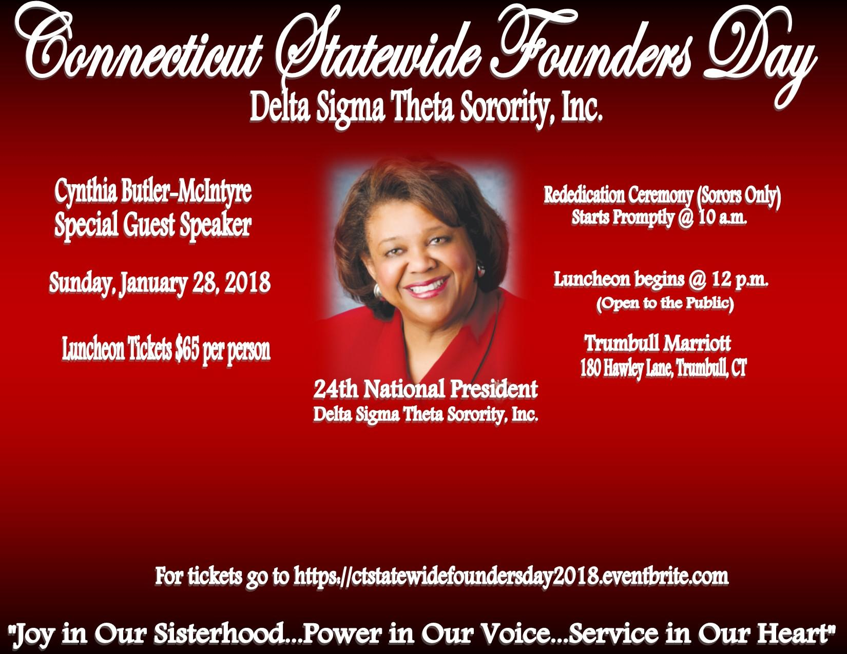 Connecticut Statewide Founders Day Delta Sigma Theta Sorority