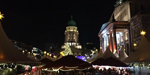 Boschie Night at the Christmas Market