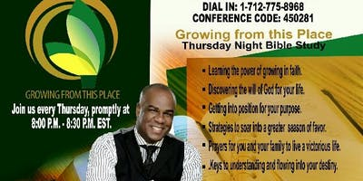 """Growing From This Place"" Conference Call with Dr. Jonathan McKnight"
