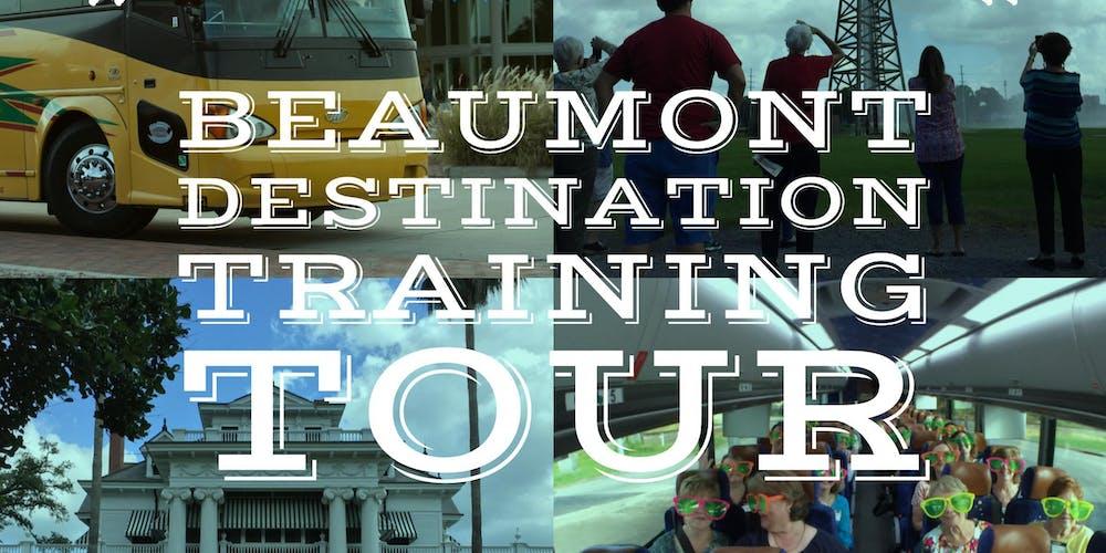 beaumont destination training tour 5 2018 tickets wed nov 14