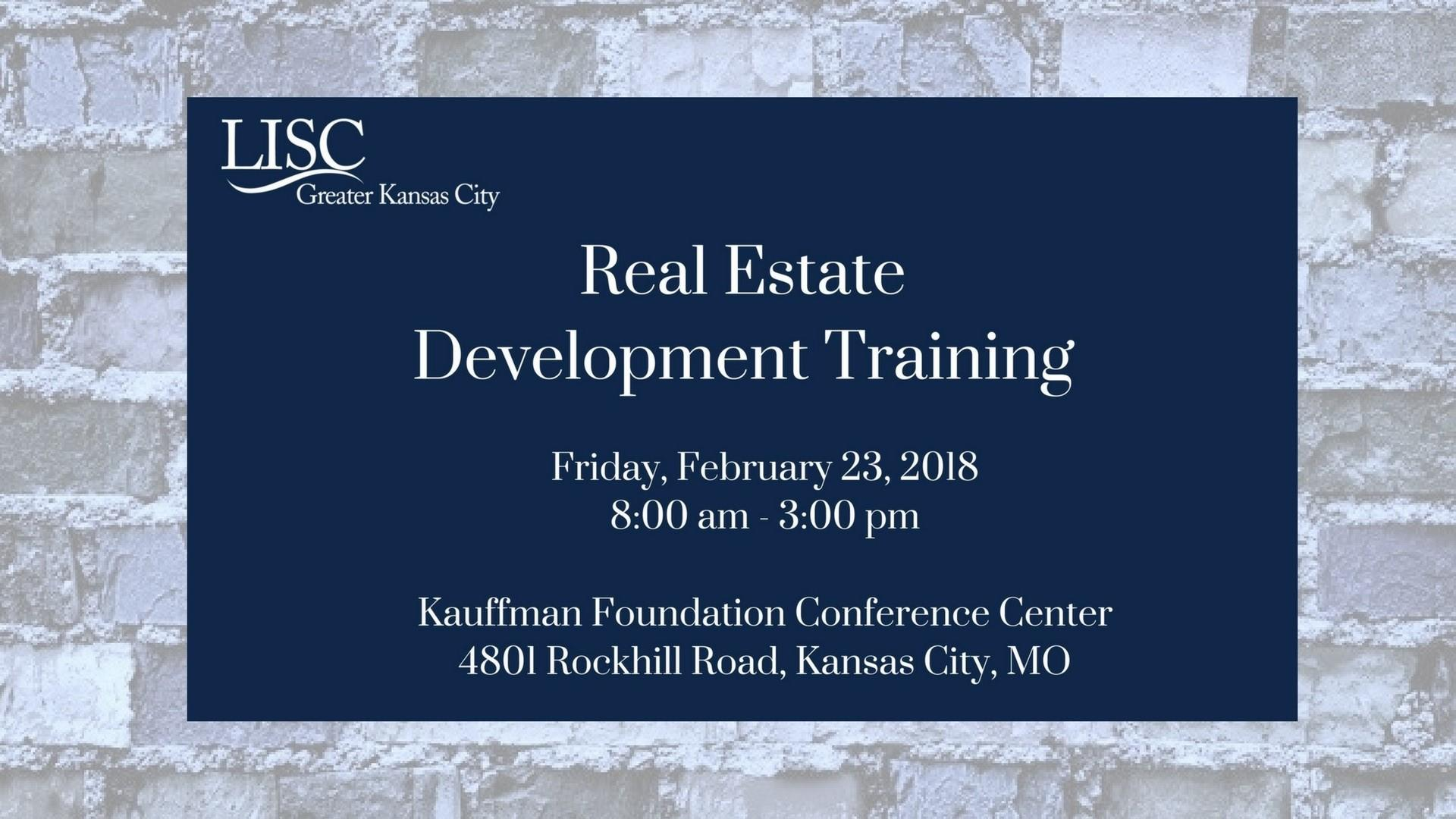 Real Estate Development Workshop (part of the