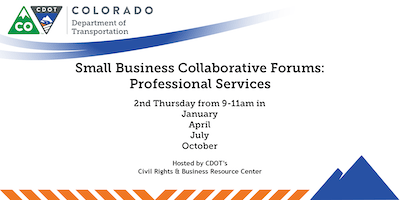 CDOT Professional Services Small Business Forum