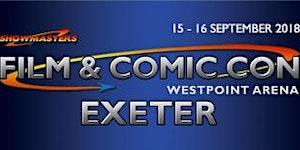 Film & Comic Con EXETER September 2018