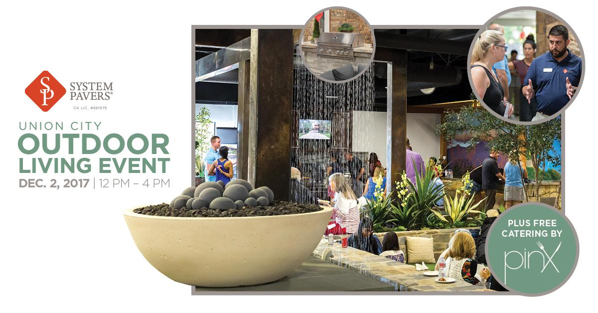 FREE Outdoor Living Event at System Pavers' NorCal Design Center