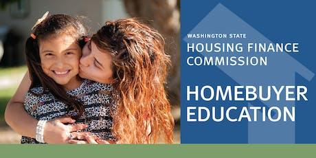 WSHFC Sponsored Homebuyer Education Seminar #55120 -- 2019-12-07 tickets