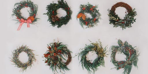 State & Arrow Wreath Workshop at Trove New Albany