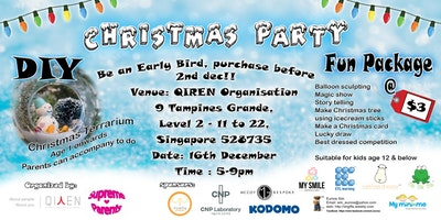 Bykido fans- early bird tickets for Christmas Party @ Tampines