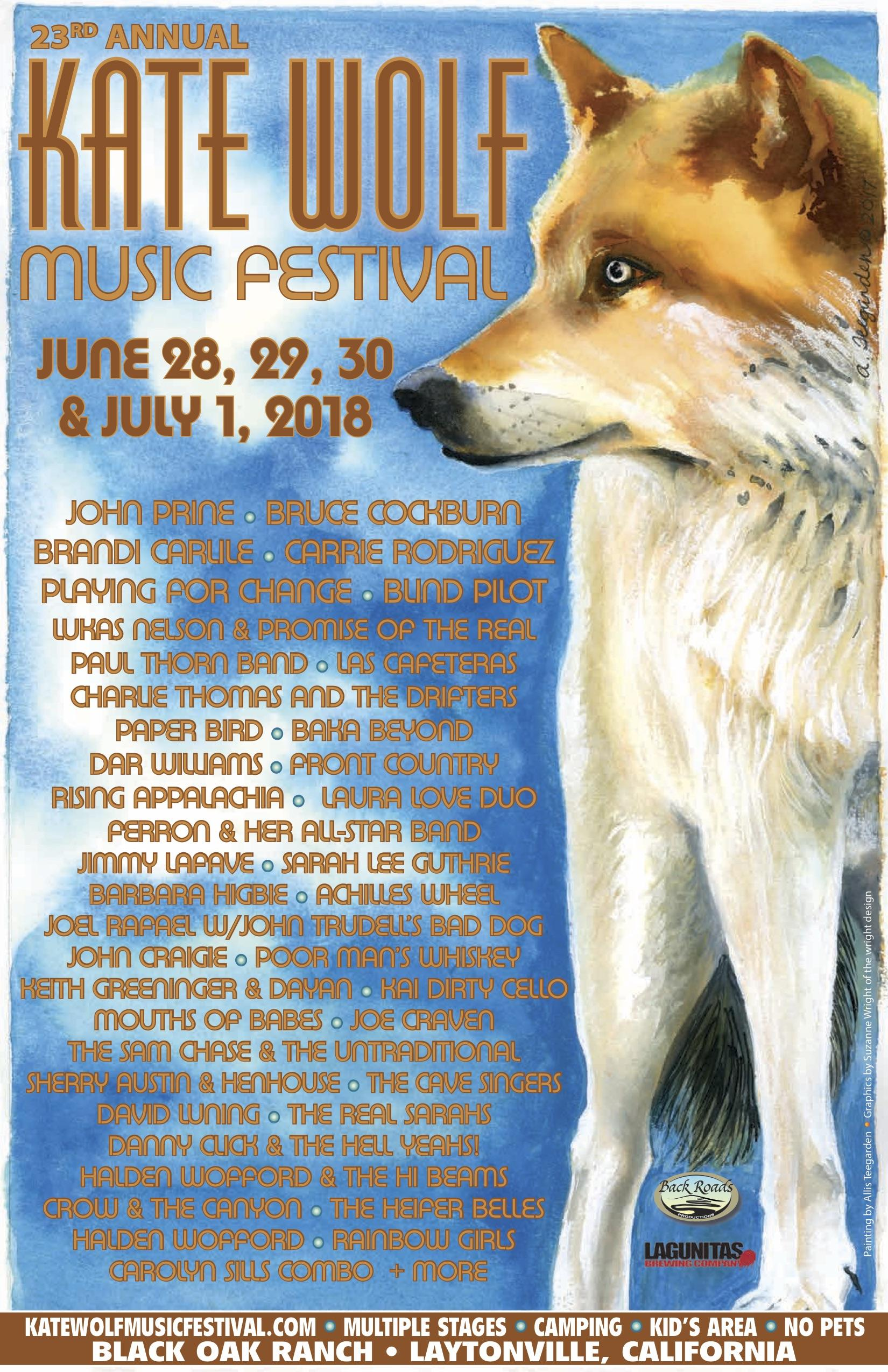 Image result for kate wolf music festival 2018