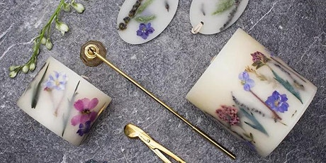 Organic Herbal Soy Candle and Air Fresher Workshop tickets