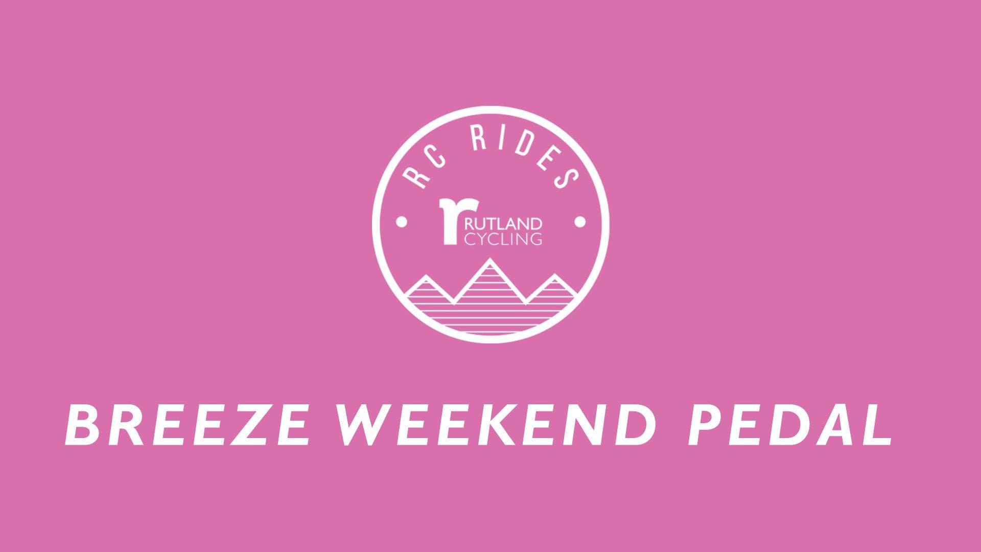 Breeze Weekend Pedal Ride - Ferry Meadows