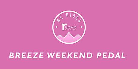 Breeze Weekend Pedal Ride - Ferry Meadows tickets