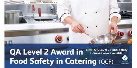Level 2 Food Safety Courses - Eastbourne tickets
