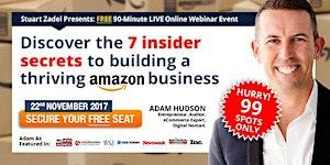 BRISBANE 'Amazon Secrets' Masterclass: 7pm Online...