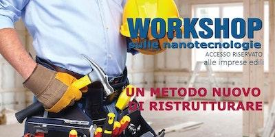 Workshop nanotecnologie- risanamento edile