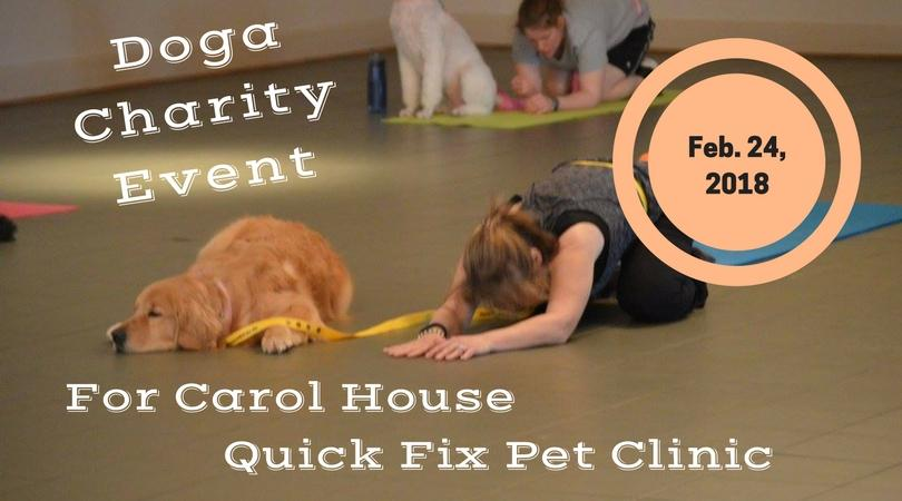Doga (Yoga for you and your Dog) Charity Even