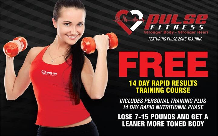 14 DAY RAPID RESULTS TRAINING COURSE!