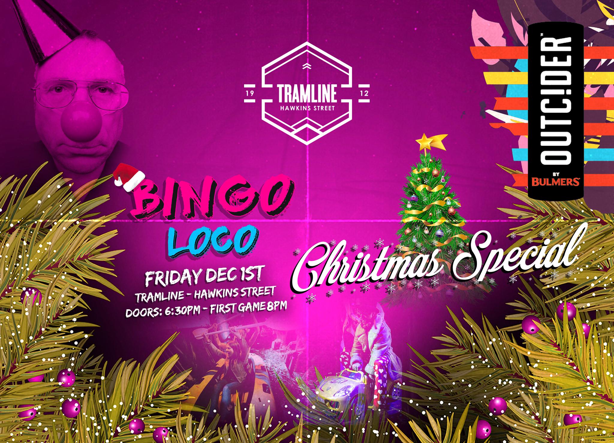 Bingo Loco Dublin XMAS Party - December 1st