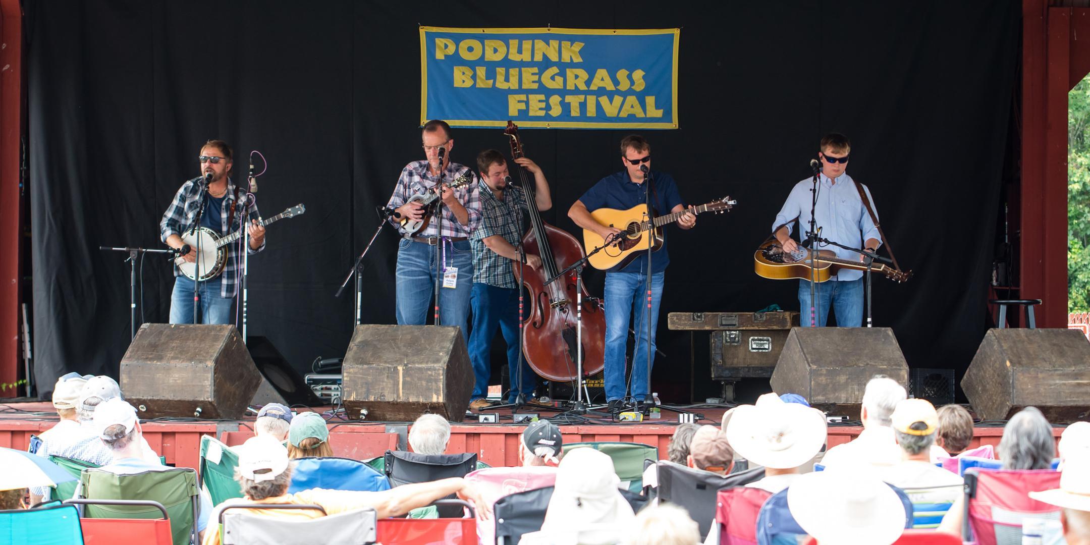 22nd Podunk Bluegrass Music Festival