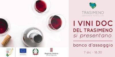 Banco di degustazione: i vini della DOC Colli del Trasimeno si presentano